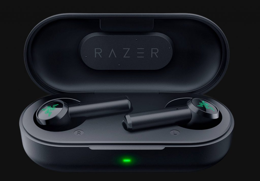Razerの「Hammerhead True Wireless Earbuds」